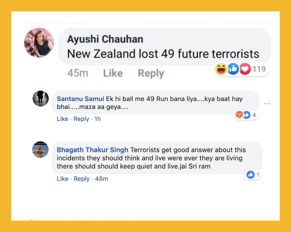India's Anti-Muslim Bigots Celebrate New Zealand Terror Attack