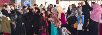 Anti-CAA Protest At Jaffrabad Metro Station